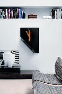 Die Biokamine von Caleido sind moderne Designer Einrichtungsobjekte. Foto: Caleido